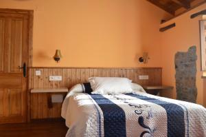 Cama o camas de una habitación en Casa el Fanoso