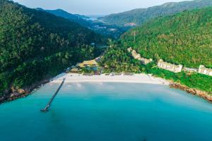 A bird's-eye view of The Taaras Beach & Spa Resort