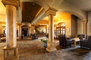 Vstupní hala nebo recepce v ubytování Park Hotel Popovicky