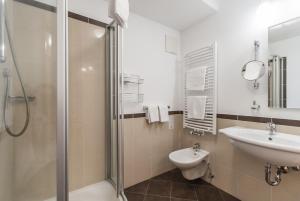 Ein Badezimmer in der Unterkunft Hotel Innerhofer