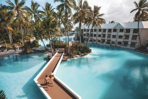 A view of the pool at Sheraton Grand Mirage Resort, Port Douglas or nearby