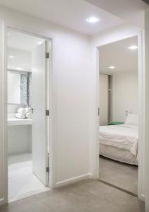 Um banheiro em Passeio das Palmeiras