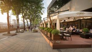 A restaurant or other place to eat at InterContinental Budapest, an IHG Hotel