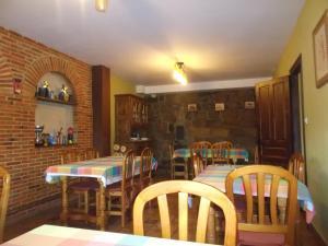A restaurant or other place to eat at Hotel Rural El Rincón de Gadea