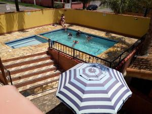 A view of the pool at Pousada N Sra de Fatima or nearby