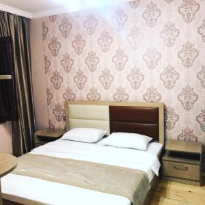 Cama ou camas em um quarto em Cülyan ev