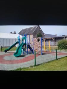 Aire de jeux pour enfants de l'établissement Camping Litteau