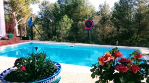 Piscina en o cerca de AbelesHome Villa con Piscina, Barbacoa y Parque Infantil.