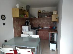 Kuchyňa alebo kuchynka v ubytovaní Ubytovanie u Zuzany