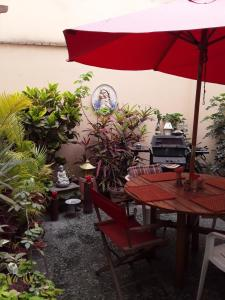 A restaurant or other place to eat at Cozy Boutique Home