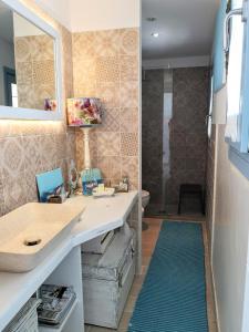 A bathroom at Le Terrazze