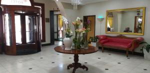 The lobby or reception area at The Balmoral