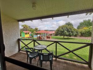 A balcony or terrace at Karri Forest Motel
