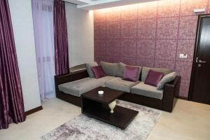 Кът за сядане в Family Hotel Edia-Sandanski
