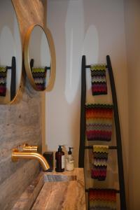 A bathroom at 'Room Eleven' aan de Vecht