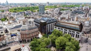 A bird's-eye view of The Londoner