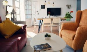 Area soggiorno di Valencia Apartamentos Goya