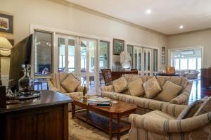 A seating area at Tallawarra Homestead