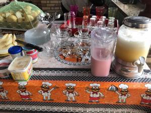 Drinks at Pousada Valverde