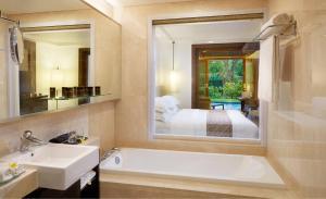 A bathroom at Melia Bali