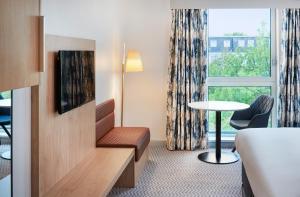 A seating area at Hilton London Croydon