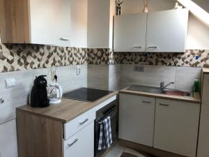 A kitchen or kitchenette at Misha,S place