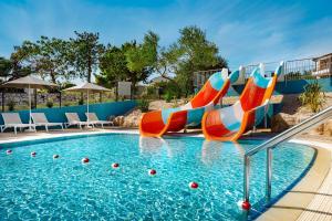 Aquapark w kompleksie wypoczynkowym lub w pobliżu