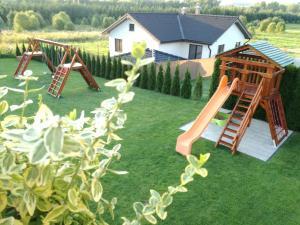 Children's play area at Pension Lunatyk