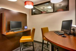 A television and/or entertainment center at TownePlace Suites Omaha West
