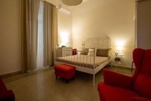 A seating area at Sichelgaita Apartment