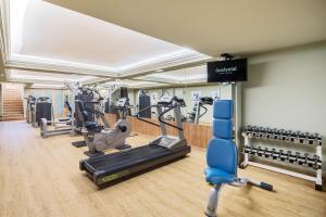 Het fitnesscentrum en/of fitnessfaciliteiten van Occidental Fuengirola by Barceló