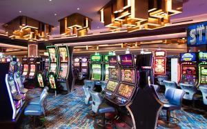 Ein Kasino im Resort oder in der Nähe