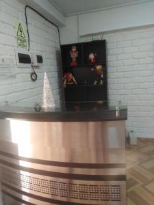 The lobby or reception area at Il Castello