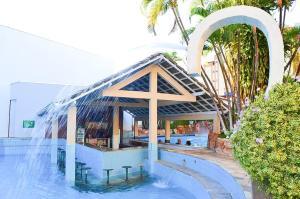 The swimming pool at or near Apart Acquaville Caldas Novas
