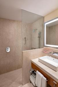 A bathroom at Trident Udaipur