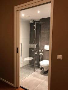 A bathroom at Hotel - Restaurant - Cafe- Geertien