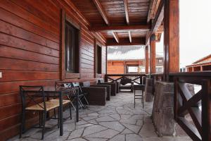 A restaurant or other place to eat at Chalet in Alpine Valley