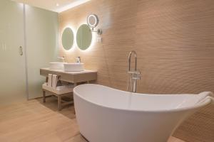 A bathroom at Grand Bavaro Princess - All Inclusive