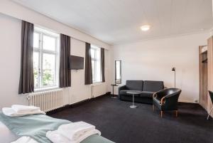 Et opholdsområde på Hotel Ansgar