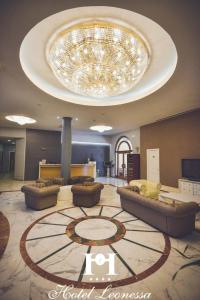 The lobby or reception area at Hotel Leonessa