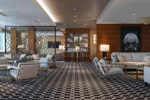 The lounge or bar area at The Ritz-Carlton, Los Angeles L.A. Live