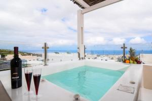The swimming pool at or near Suite Home Santorini