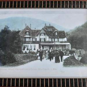 Le Saint Barnabe & Spa - near Guebwiller during the winter