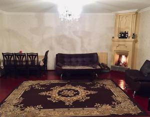 A seating area at Butichi Guest House