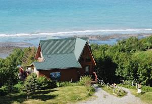 A bird's-eye view of Alaska Adventure Cabins