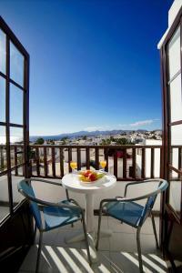 Een balkon of terras bij Plaza Azul