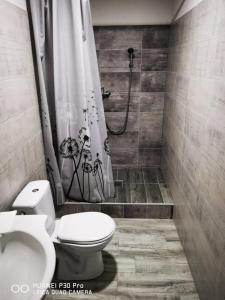 Kúpeľňa v ubytovaní Penzión Minos
