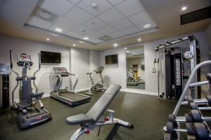 The fitness center and/or fitness facilities at Holiday Inn Express Amsterdam Arena Towers, an IHG Hotel