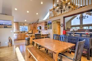 A restaurant or other place to eat at Secluded Fairplay Home with Deck, Grill and View!
