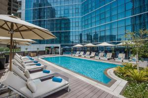 The swimming pool at or near TRYP by Wyndham Dubai
